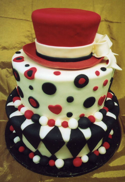 Mad Hatter Whimsical cake