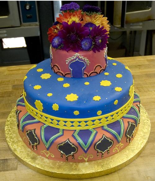 Casa Blanca wedding cake