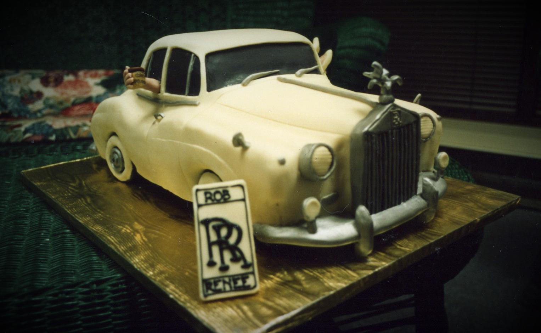 Rolls Royce groom's cake