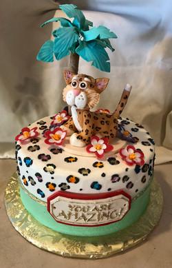 Red Velvet Baby Jaguar Cake for Cake4Kids