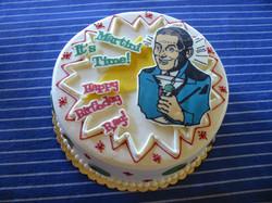 Martini Time birthday cake