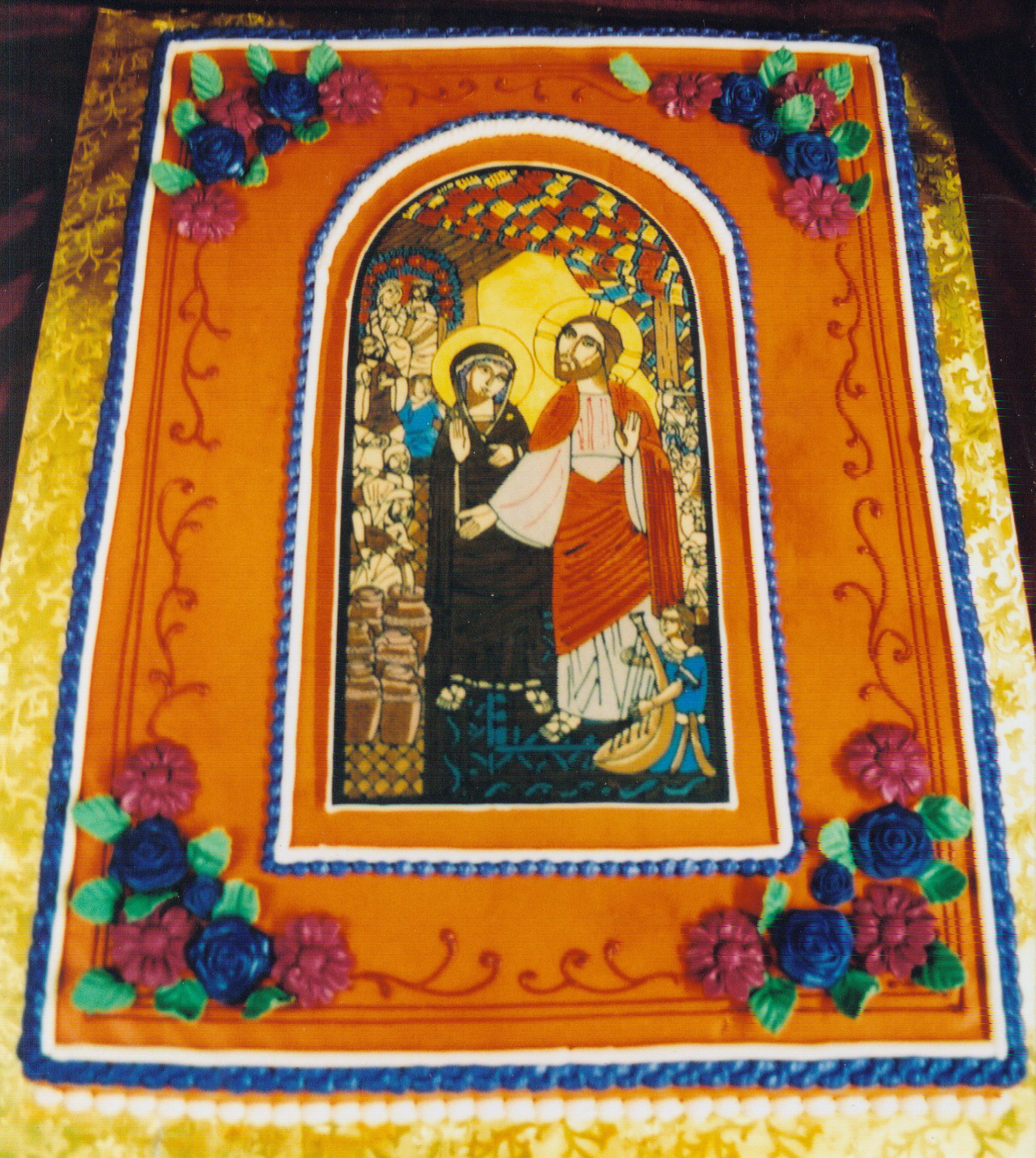 Religious wedding cake