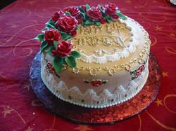 84th Birthday cake