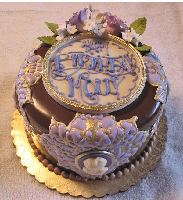 Victorian birthday cake