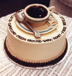 Seattle Coffee Fest cake