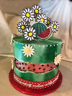 Watermelon cake for Cake4Kids