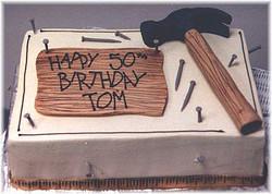 Hammer Time cake