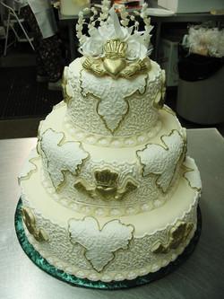 Irish Unity wedding cake