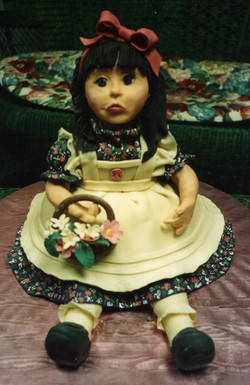 Doll Cake for Rosalie Whyel's Doll Museum