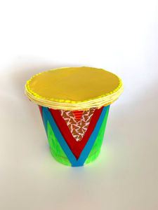 Teach Kids Simple Rhythm With This Drum Shaker 2 in 1 Toy