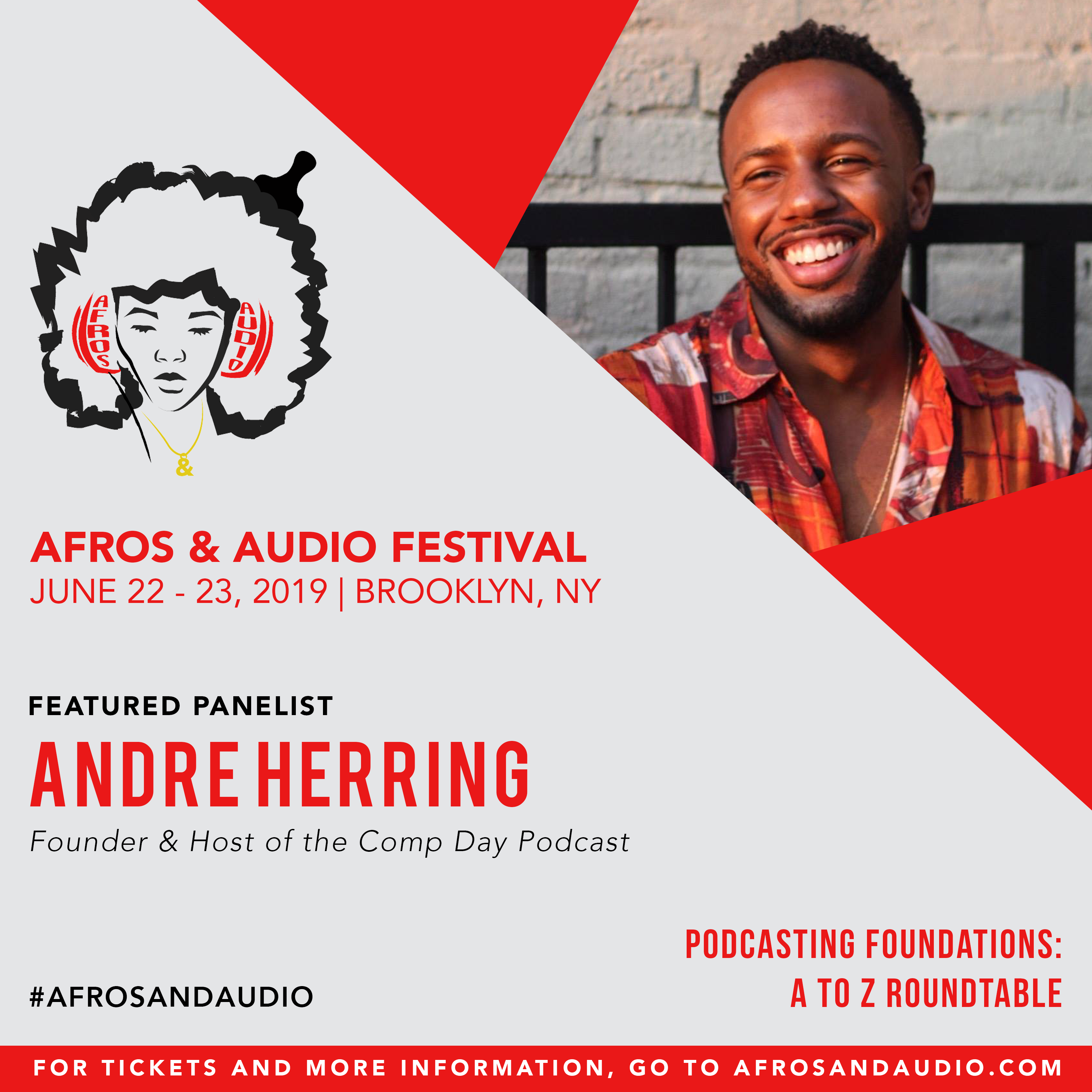 AfrosandAudio Presenter Posts - Andre