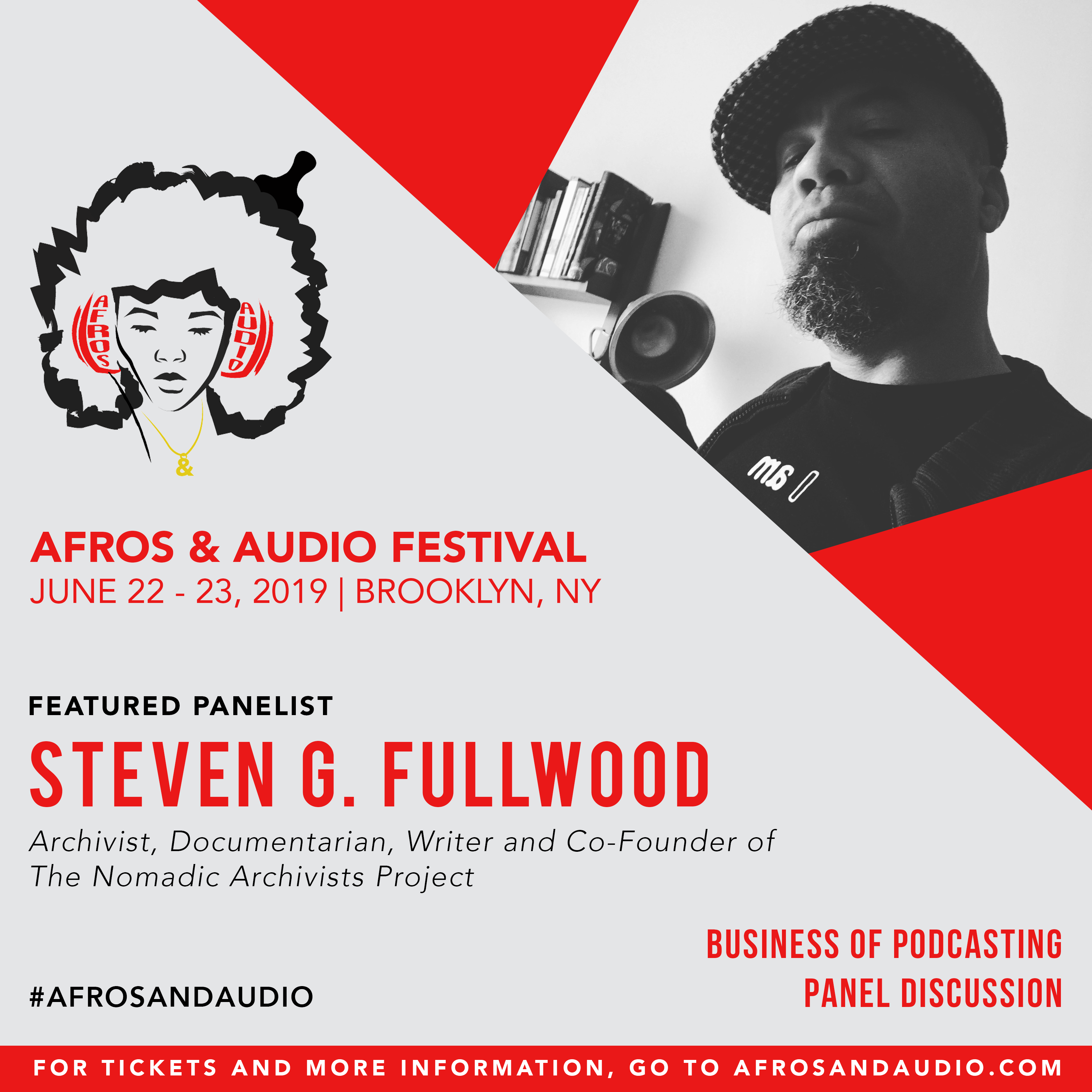 AfrosandAudio Presenter Posts - Steven