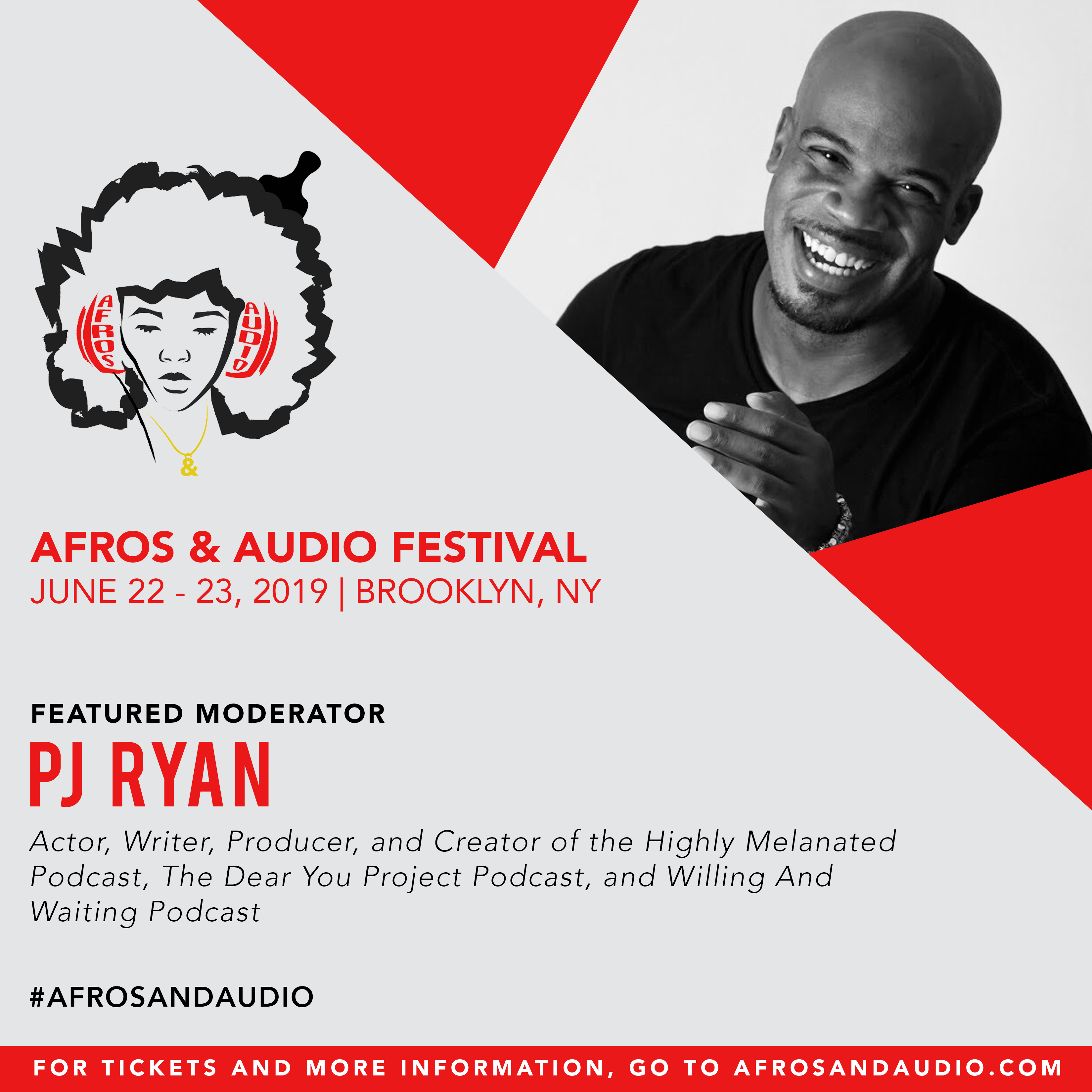AfrosandAudio Presenter Posts - PJ Ryan.