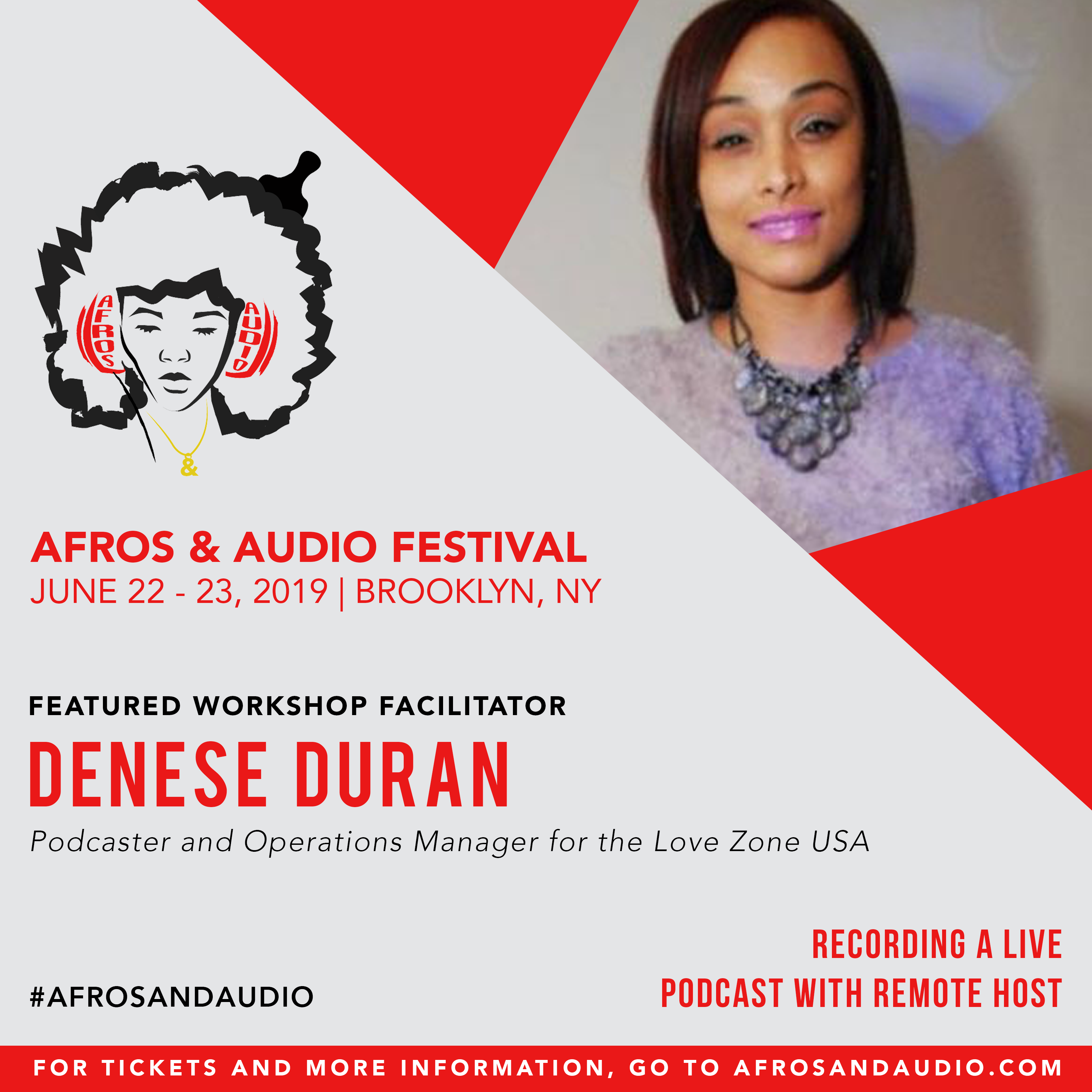 AfrosandAudio Presenter Posts - Denese