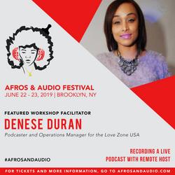 AfrosandAudio Presenter Posts - Denese