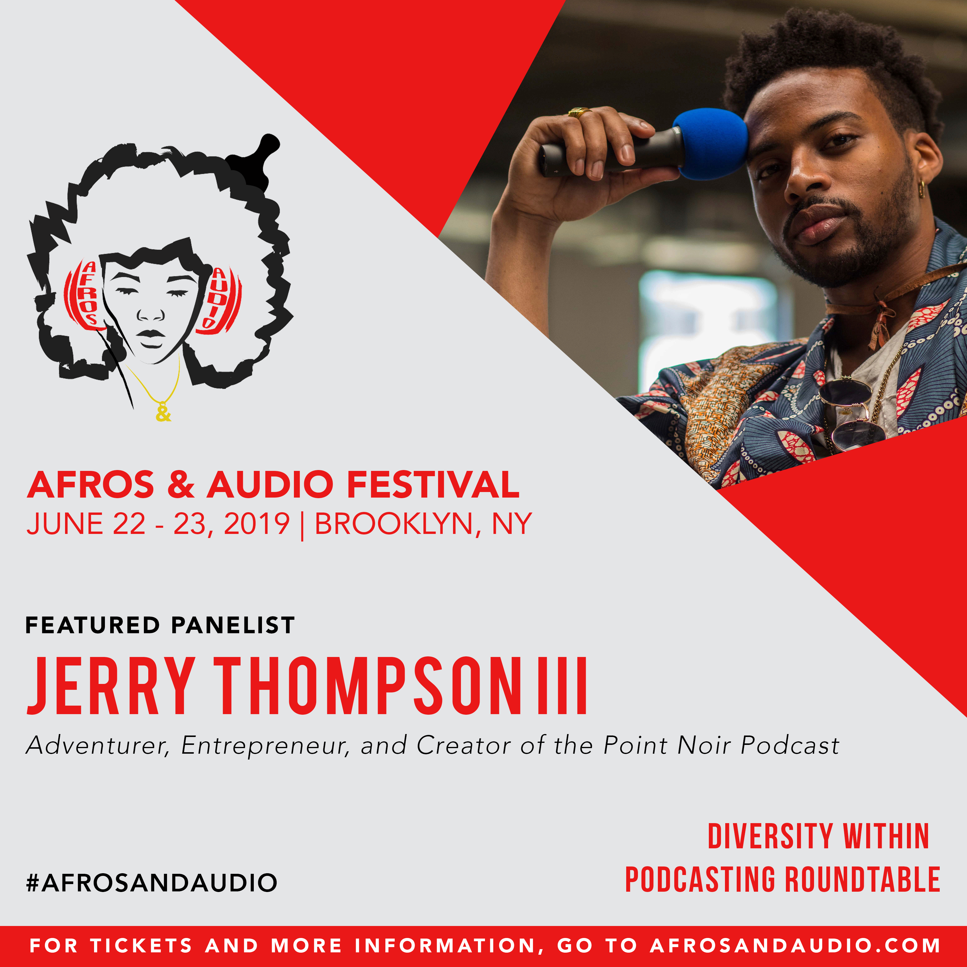 AfrosandAudio Presenter Posts - Jerry