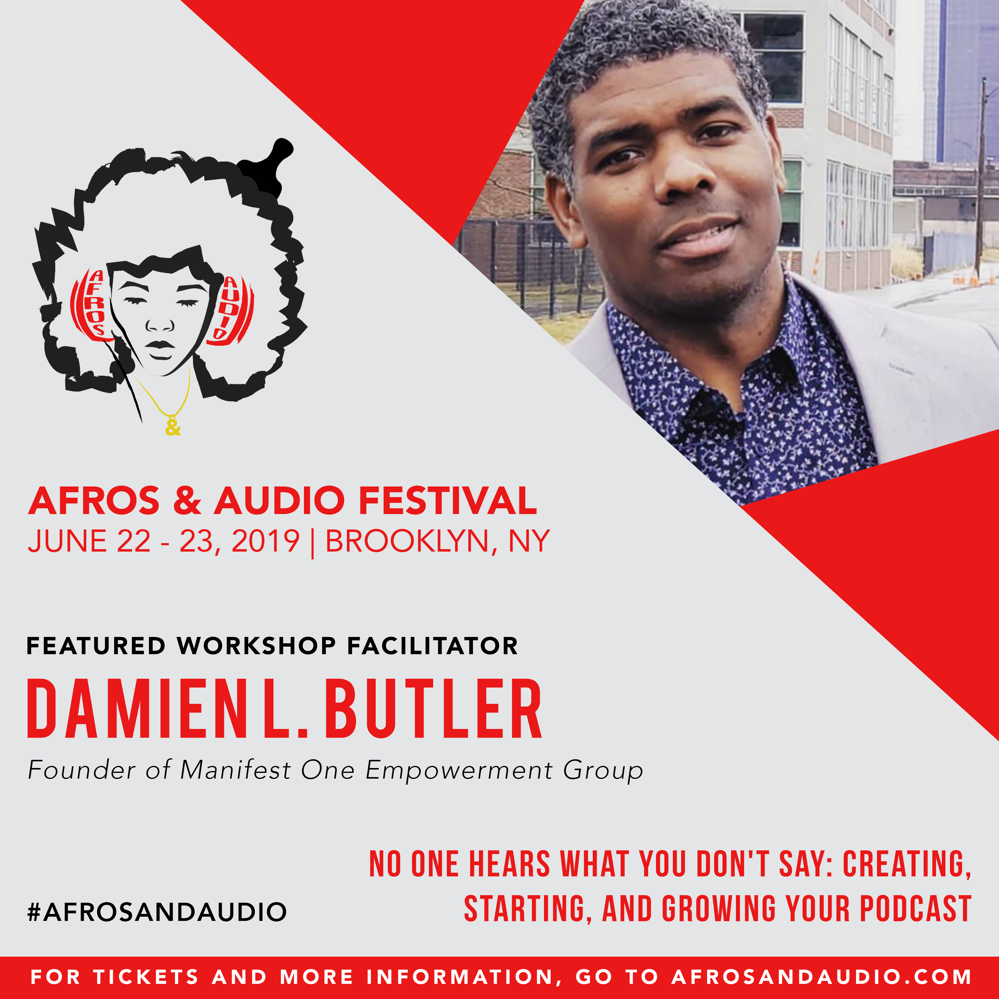AfrosandAudio Presenter Posts - Damien (