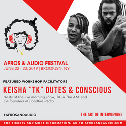 AfrosandAudio Presenter Posts - TK Con