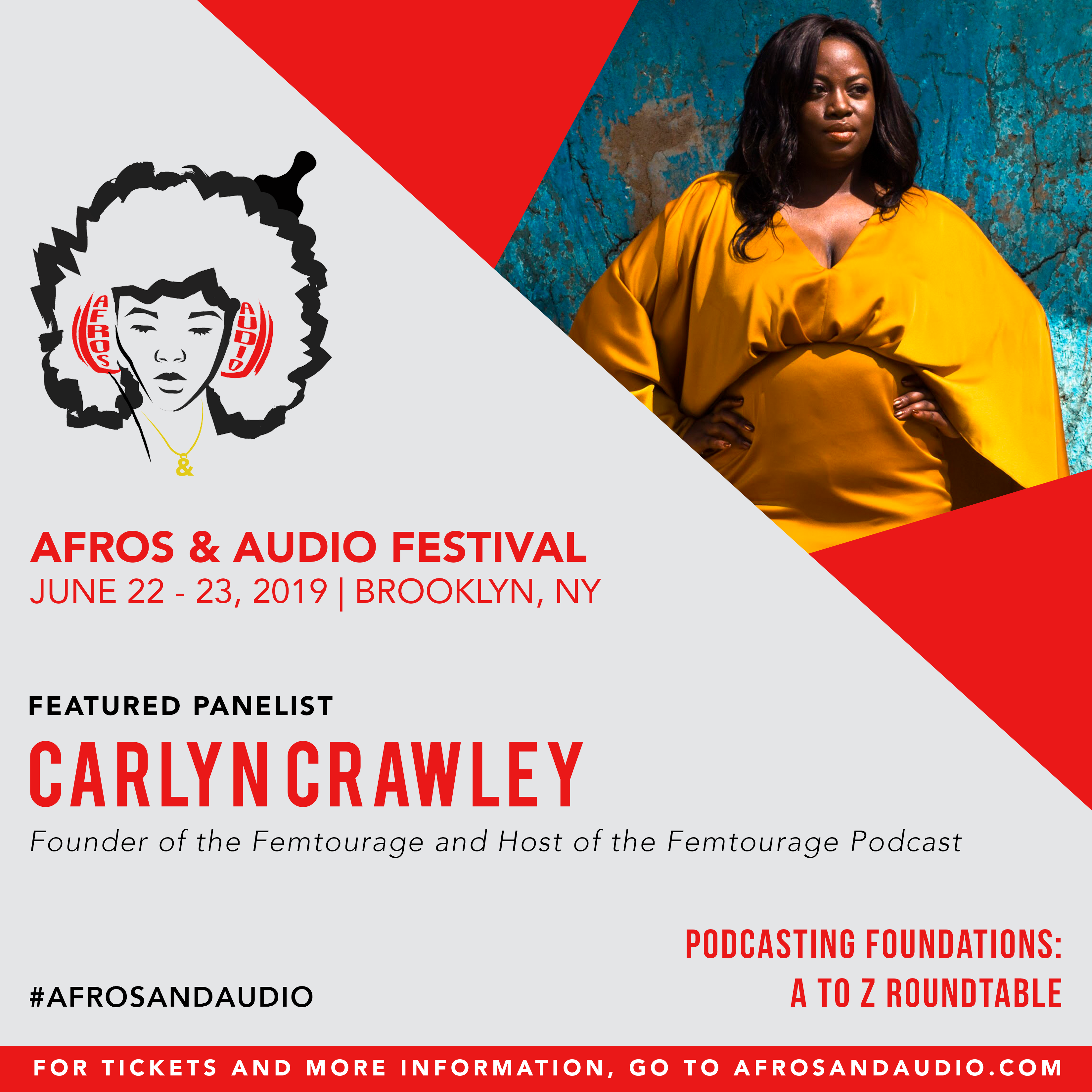 AfrosandAudio Presenter Posts - Carlyn