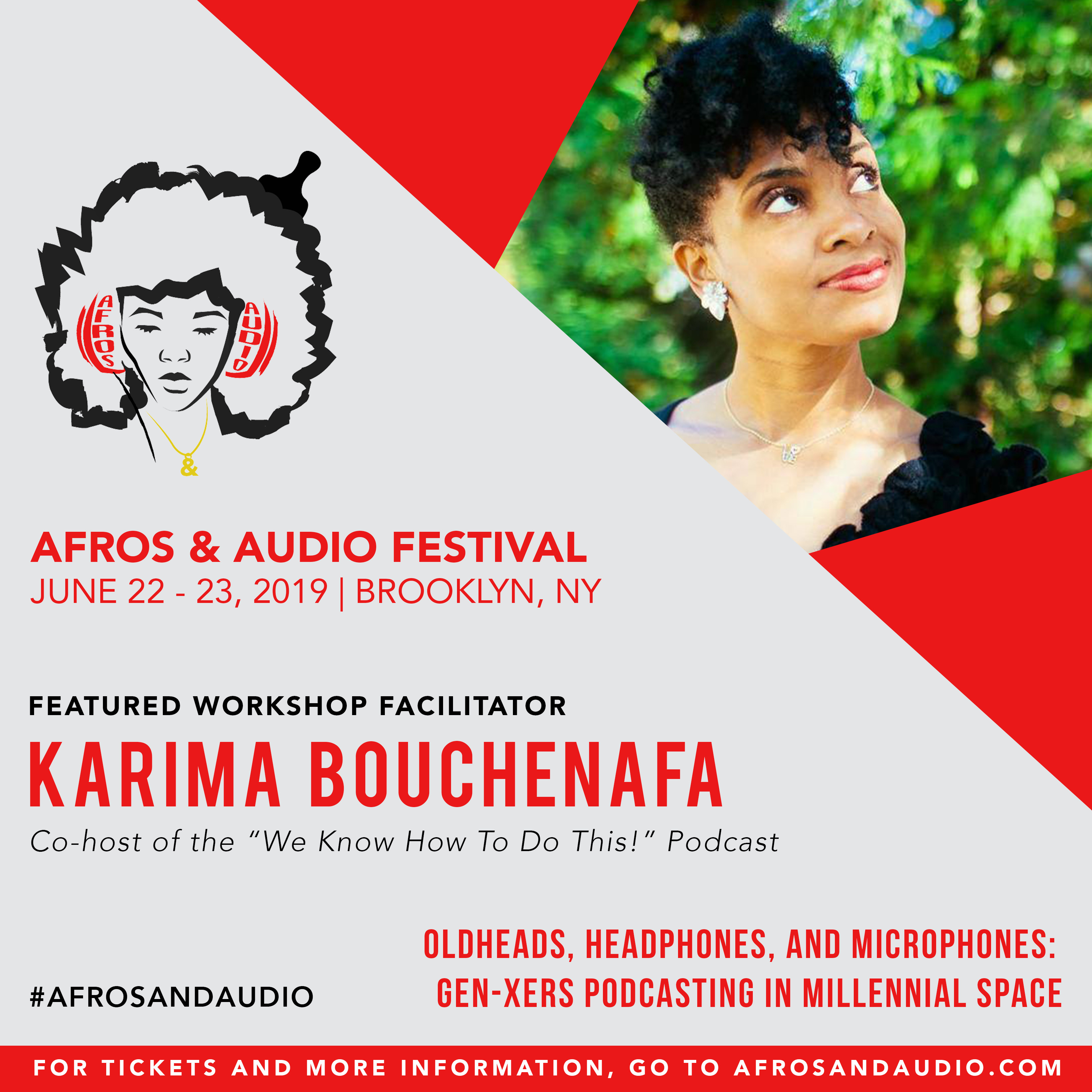 AfrosandAudio Presenter Posts - Karima