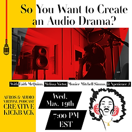 So You Want to Create an Audio Drama?