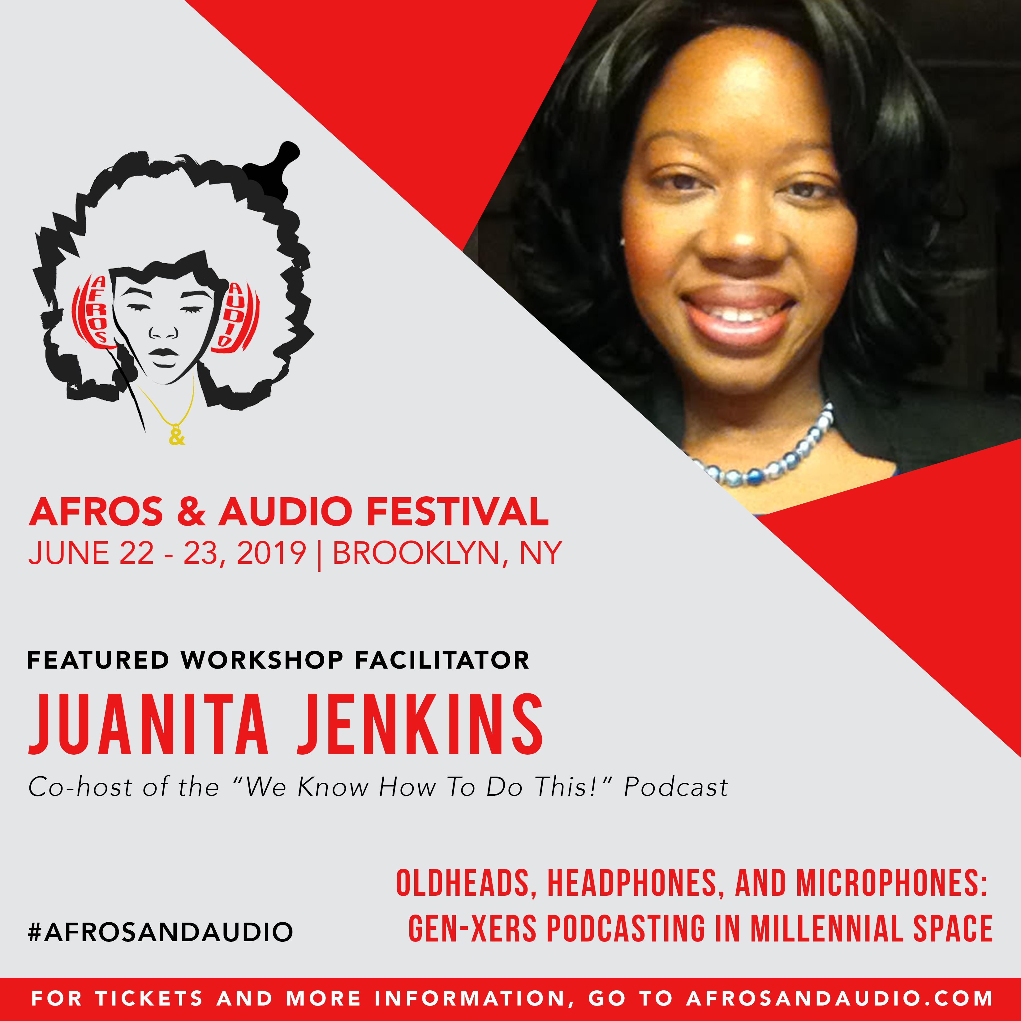AfrosandAudio Presenter Posts - Juanita.