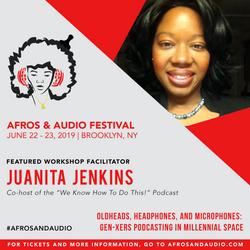 AfrosandAudio Presenter Posts - Juanita.