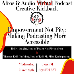 Empowerment Not Pity: Making Podcasting More Accessible