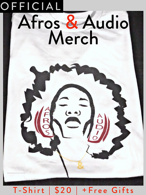 Official Afros & Audio Merch