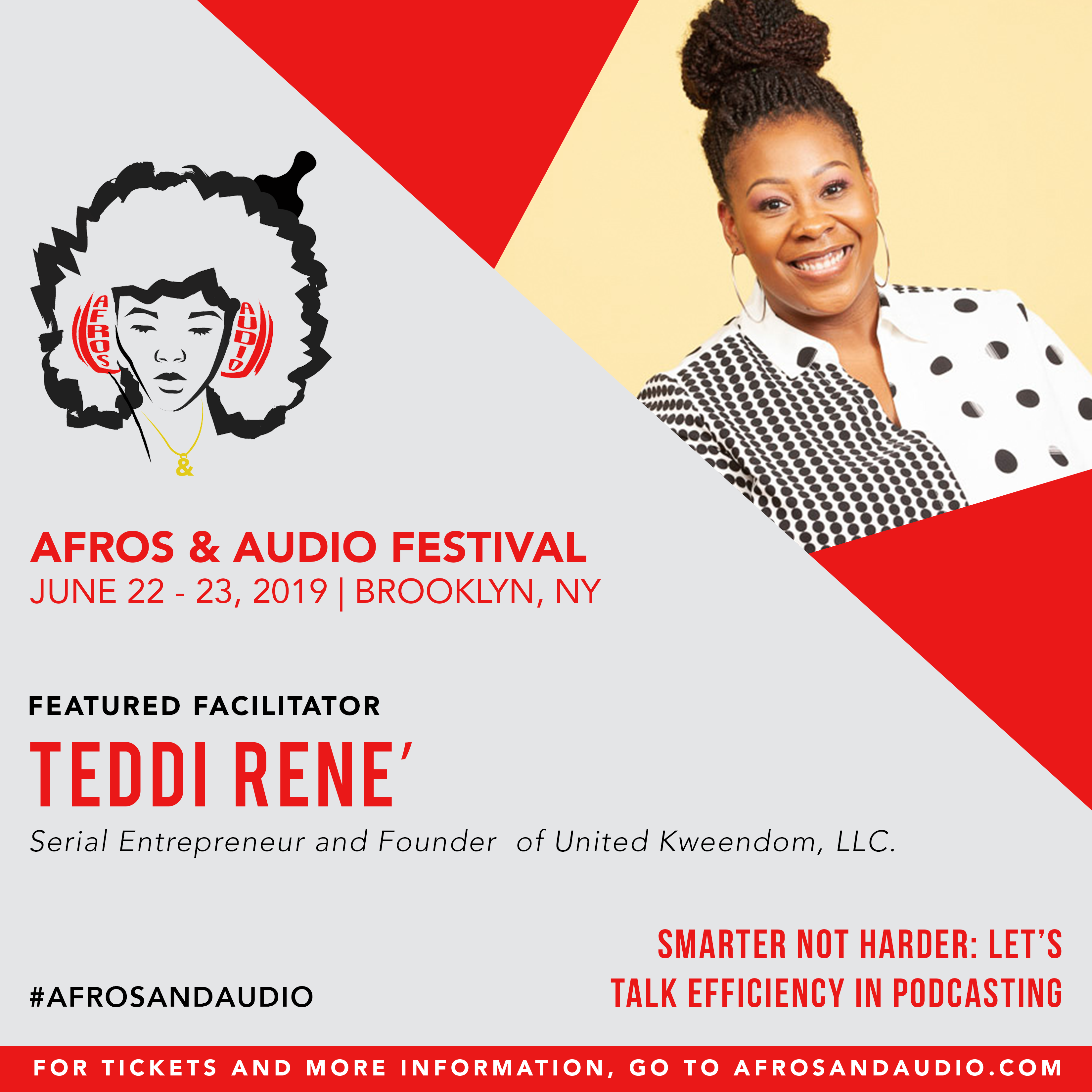AfrosandAudio Presenter Posts - Teddi