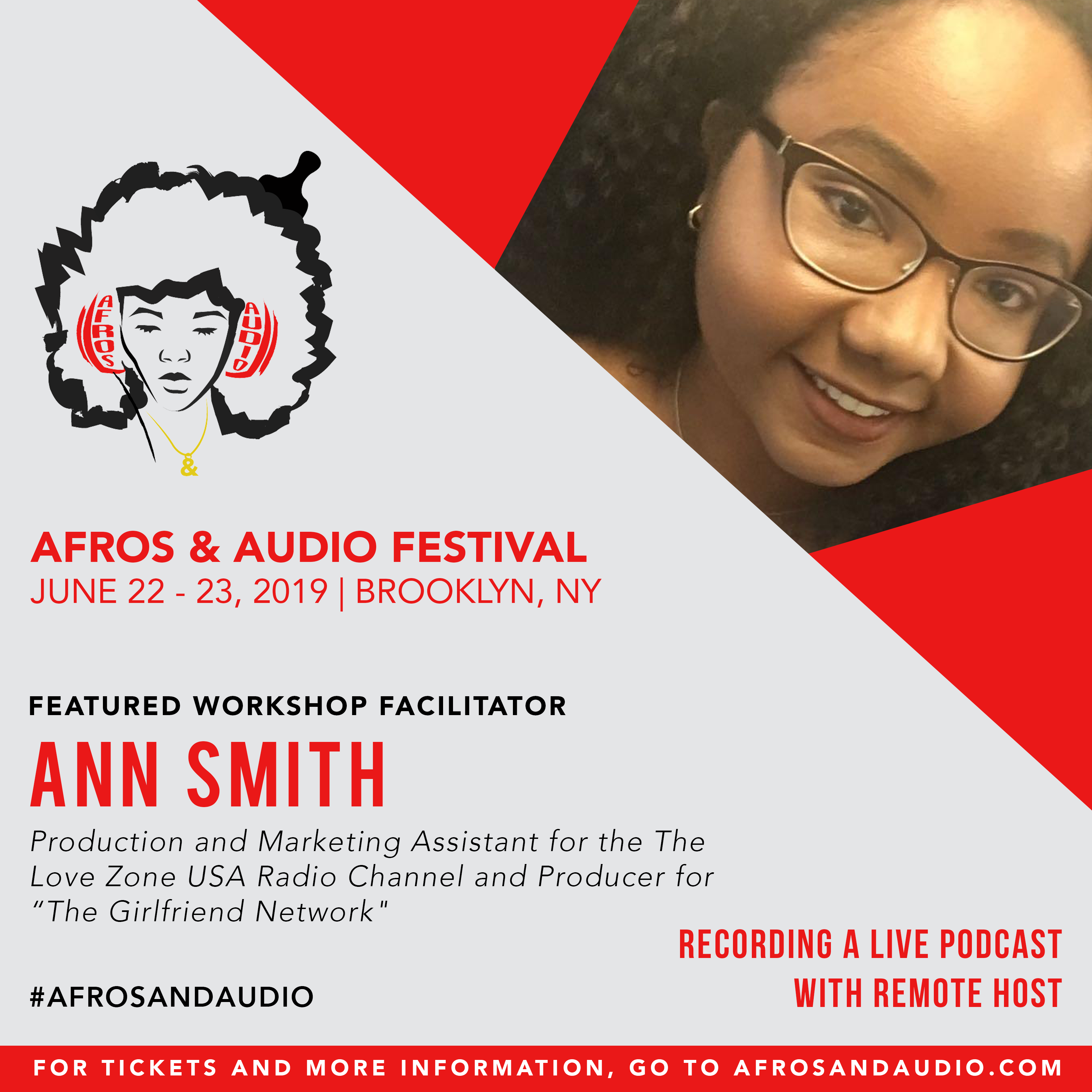 AfrosandAudio Presenter Posts - Ann Smit