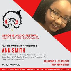 AfrosandAudio Presenter Posts - Ann Smit
