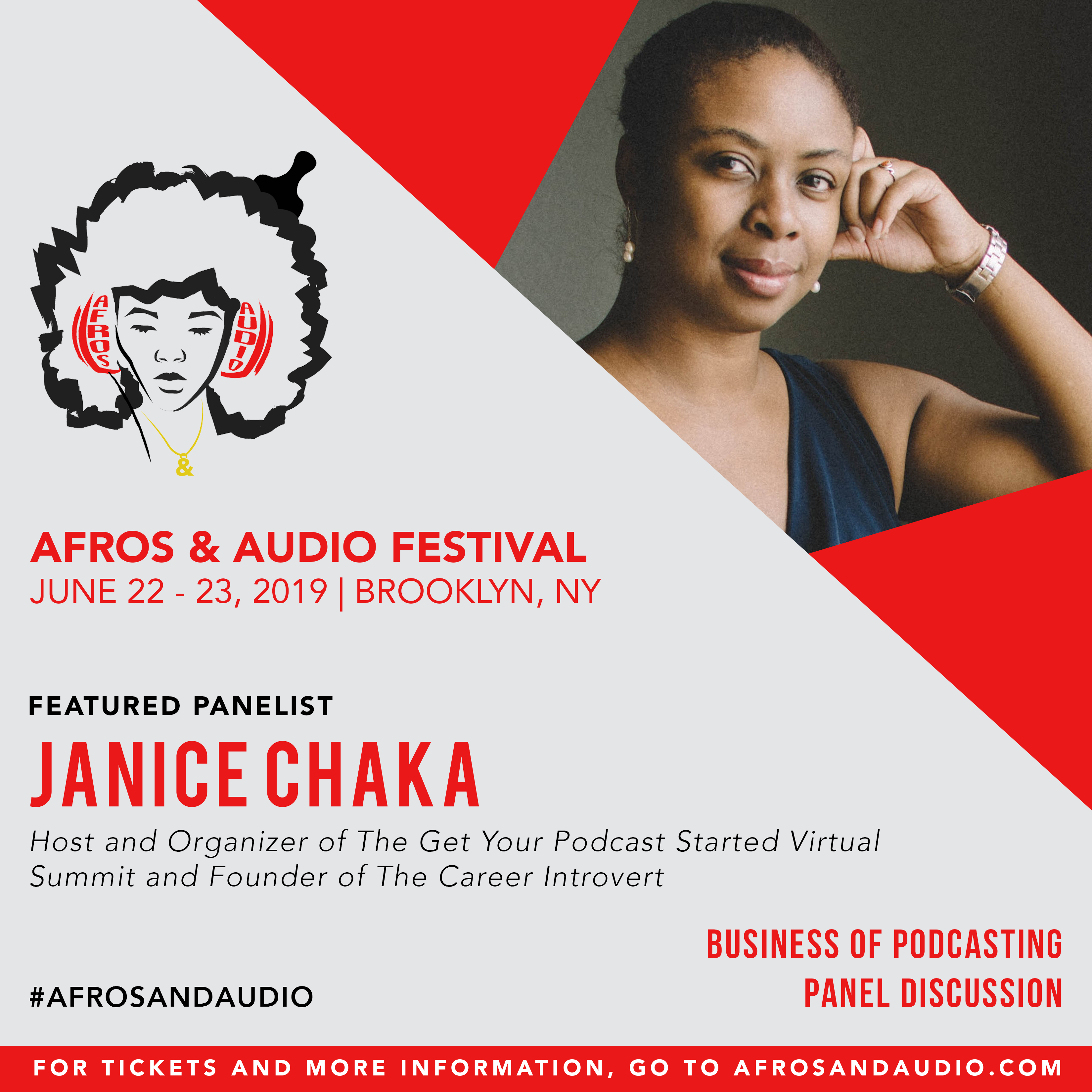 AfrosandAudio Presenter Posts - Janice (