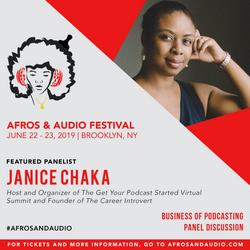 AfrosandAudio Presenter Posts - Janice (