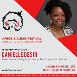 AfrosandAudio Presenter Posts - Danielle