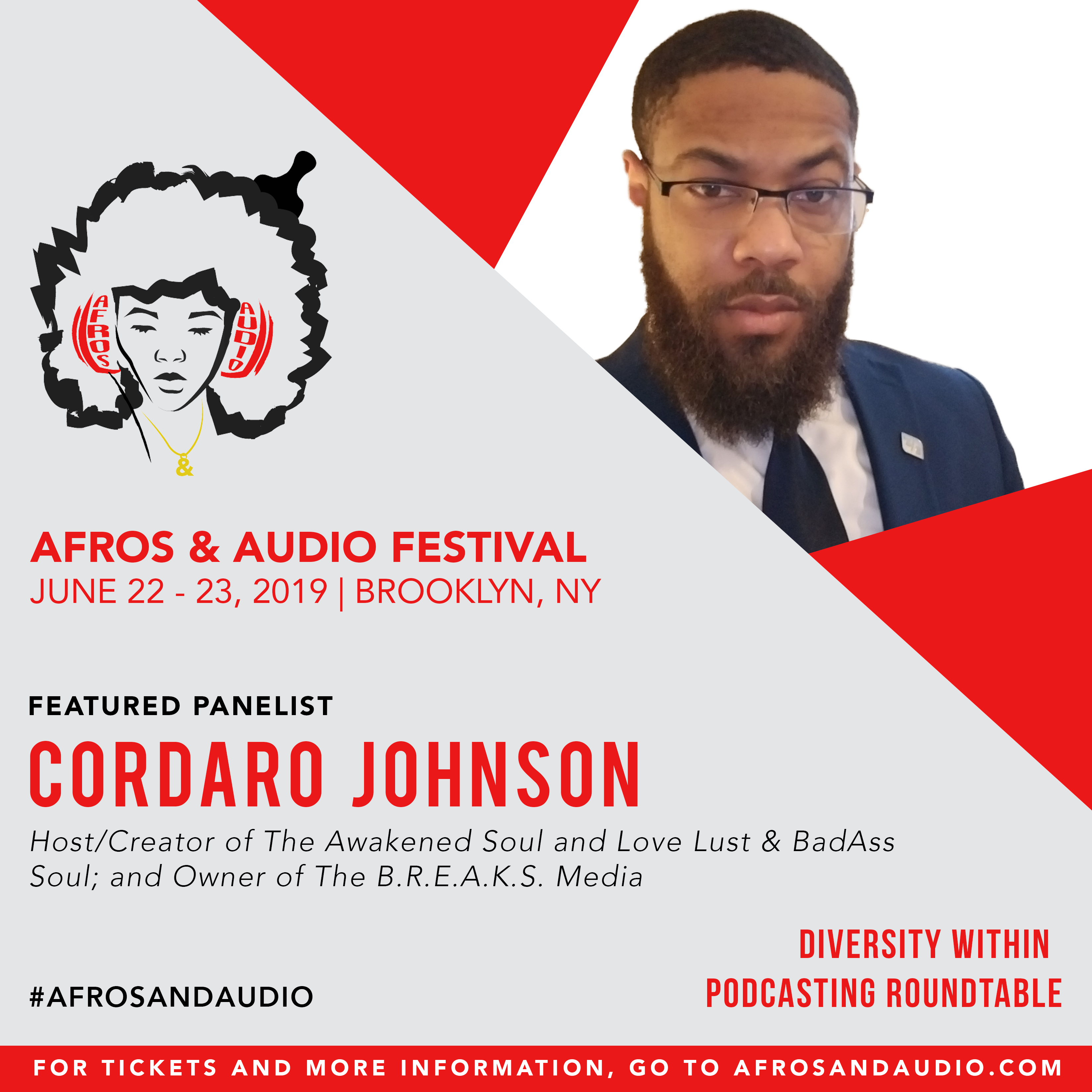 AfrosandAudio Presenter Posts - Cordaro.