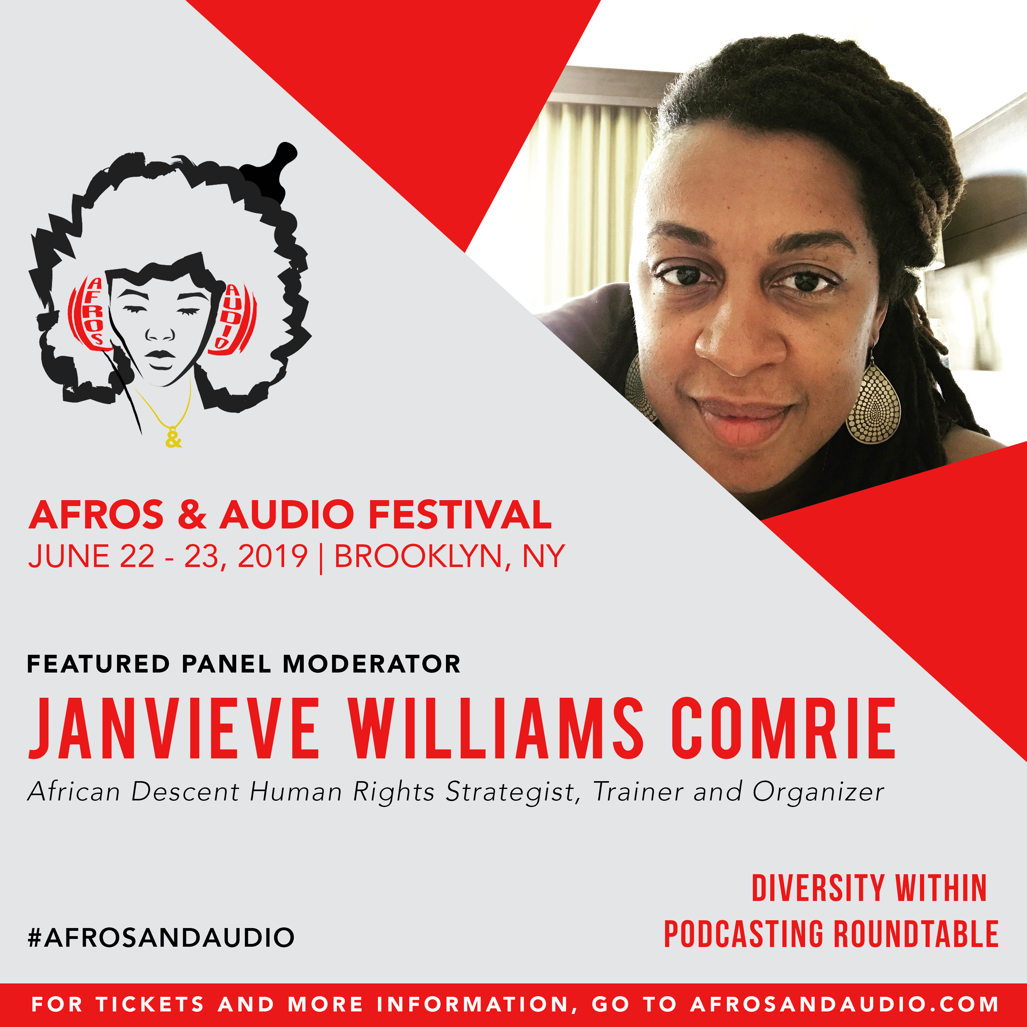 AfrosandAudio Presenter Posts - Janvieve