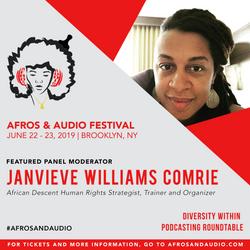 AfrosandAudio Presenter Posts - Janvieve