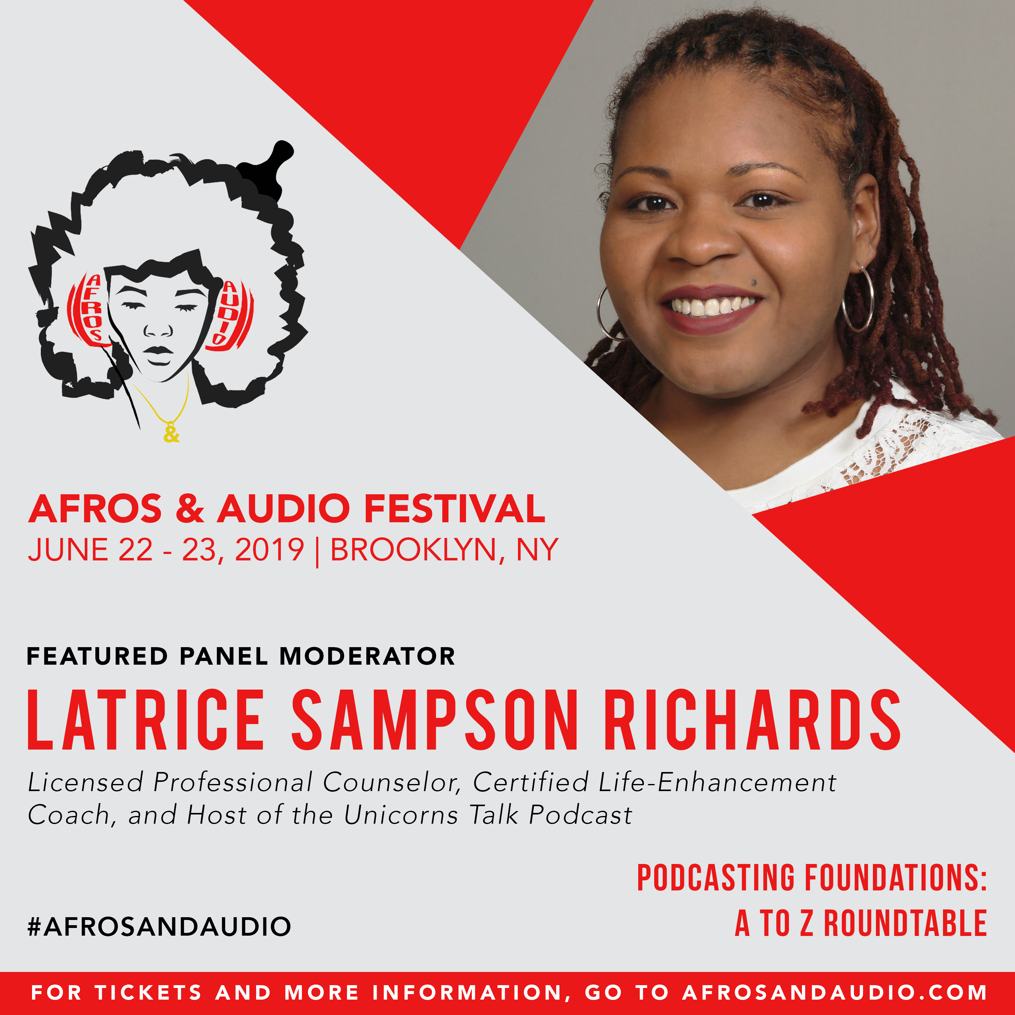 AfrosandAudio Presenter Posts - Latrice.