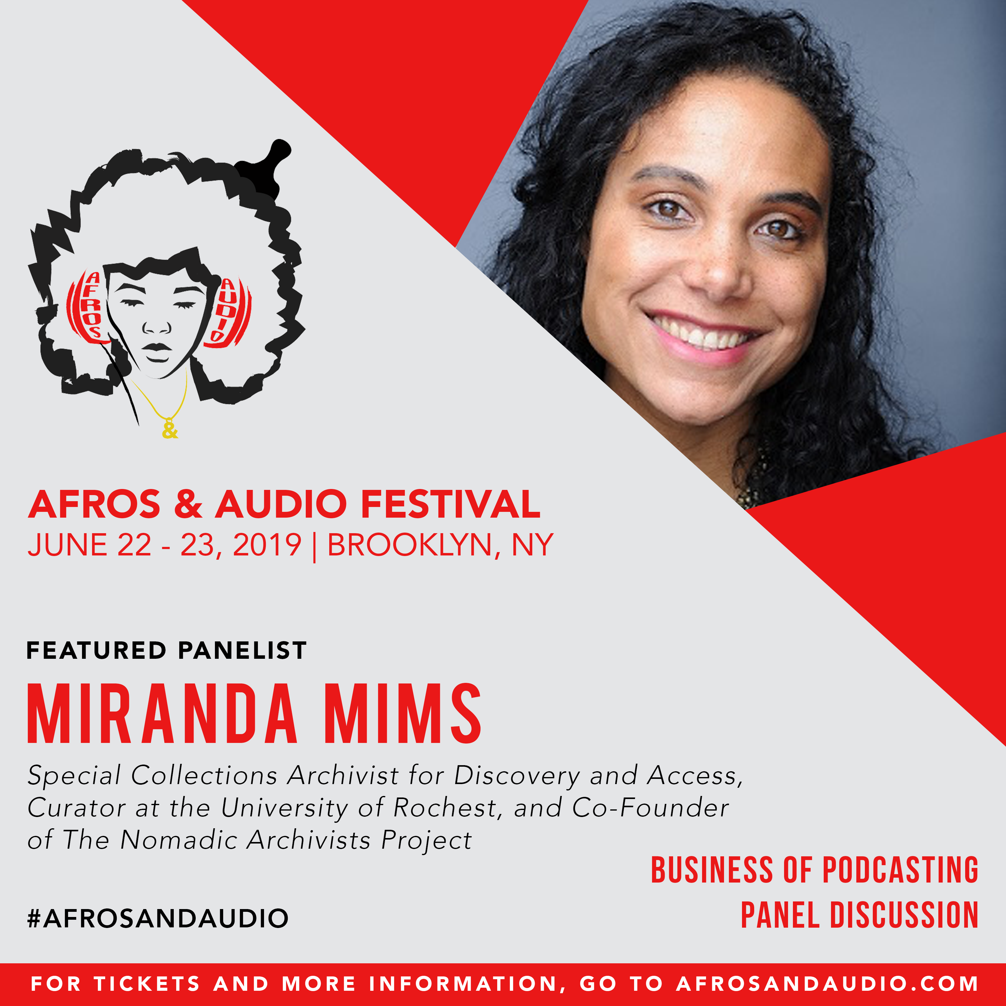 AfrosandAudio Presenter Posts - Miranda.