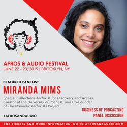 AfrosandAudio Presenter Posts - Miranda.