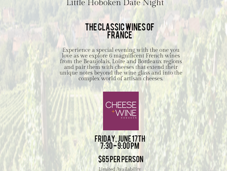 Cheese + Wine Date Night.....Almost Sold Out!