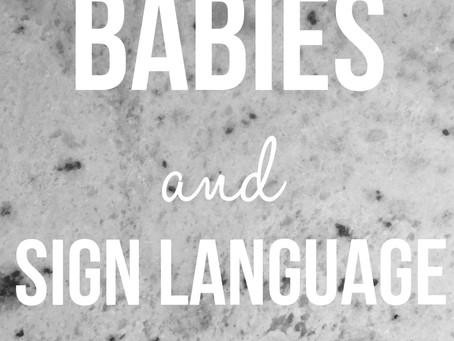 Babies & Sign Language