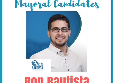 HOBOKEN MATTERS: Mayoral Candidate Interview with Ron Bautista