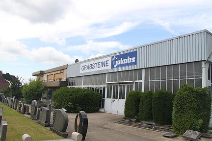 Das Bild zeigt den Betrieb Grabsteine Jakobs in Hückelhoven.