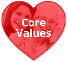 Atlanta GA Home Care Cargiver Core Values