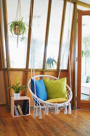 cozy green nooks