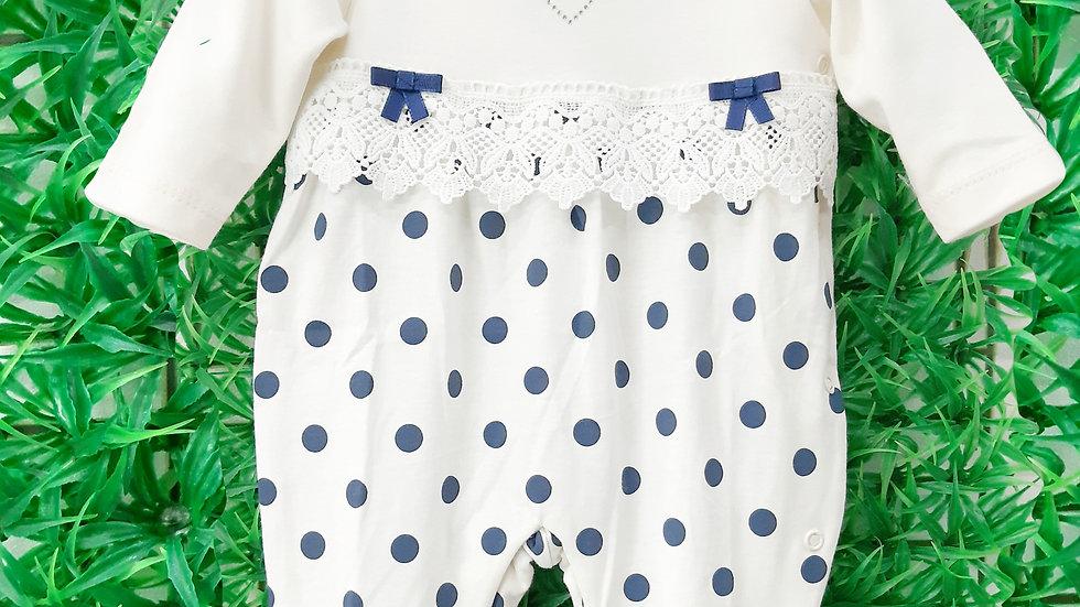 Macacão bolas Baby Fashion
