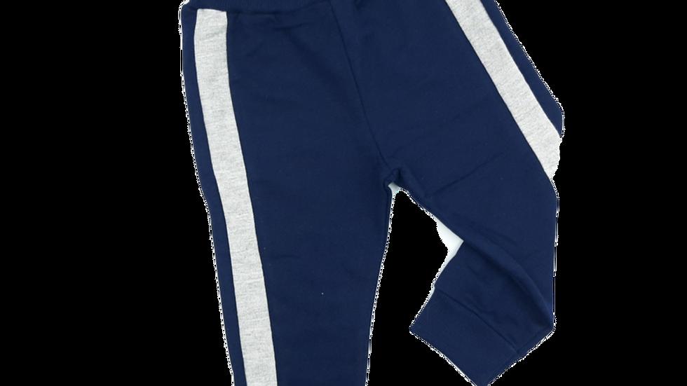 Calça masculina azul marinho Kyly