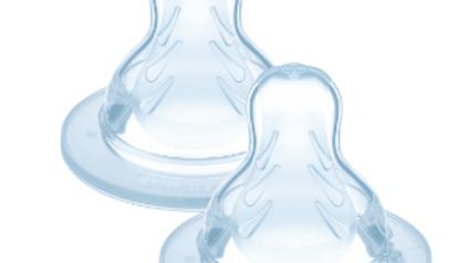 Bico X Fluxo Super Rápido 6+ Meses - Duplo - Para mamadeiras